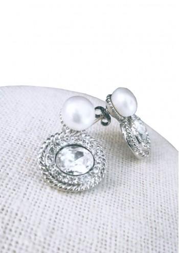 Oval Pearl Crystal